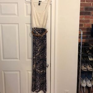 Dresses & Skirts - Maxi dress, printed skirt with lace top